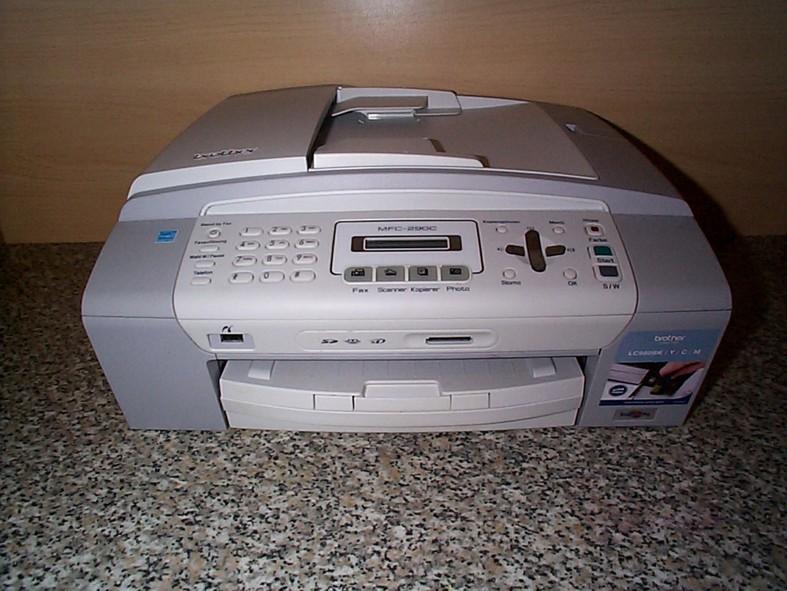 brother mfc 290c multifunktionsger t drucker kopierer scanner fax 4977766661768 ebay. Black Bedroom Furniture Sets. Home Design Ideas